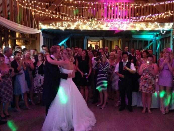 Tewinbury Farm Wedding DJ